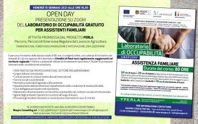 Open Day Progetto PERLA